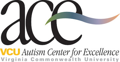 "VCU Autism Center for Excellence ""ACE"" Logo"